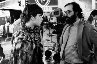 Настасья Кински и режиссер Фрэнсис Форд Коппола на съемках фильма «От всего сердца» (1981)