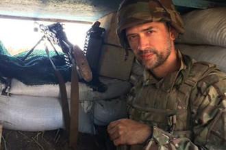 Анатолий Пашинин в военной форме