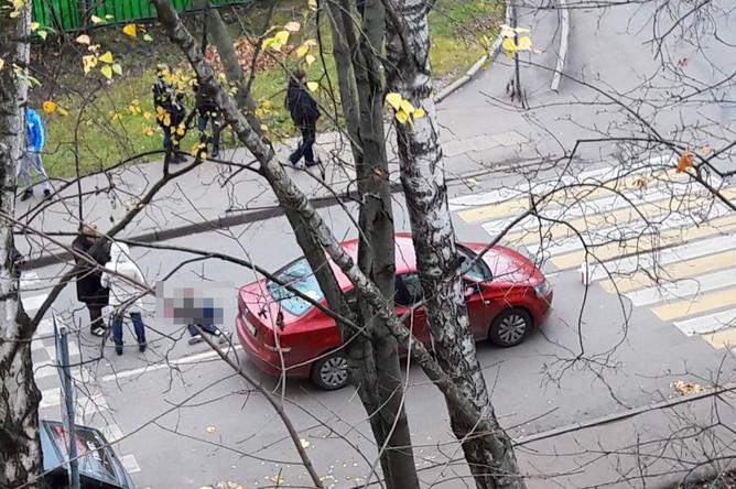 В Москве насмерть сбили ребенка на пешеходном переходе