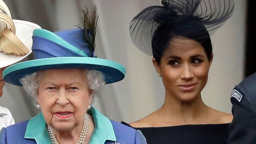 Меган Маркл отказалась от поездки в Великобританию на день рождения королевы