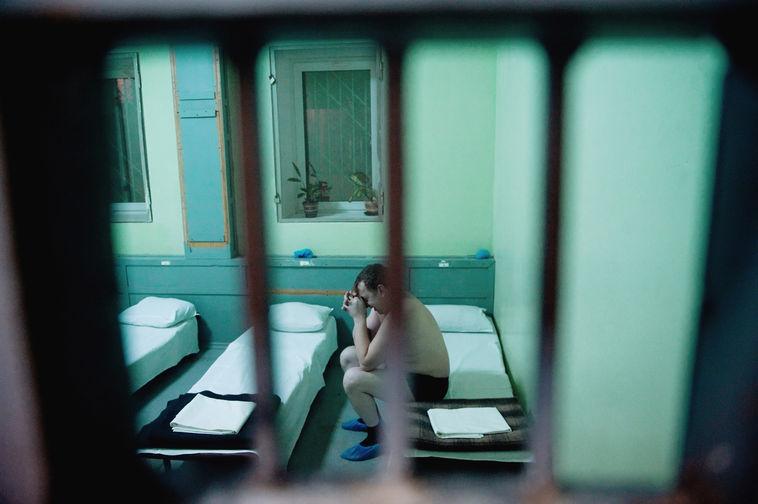 В медицинском вытрезвителе химкинского УВД Московской области, 2009 год