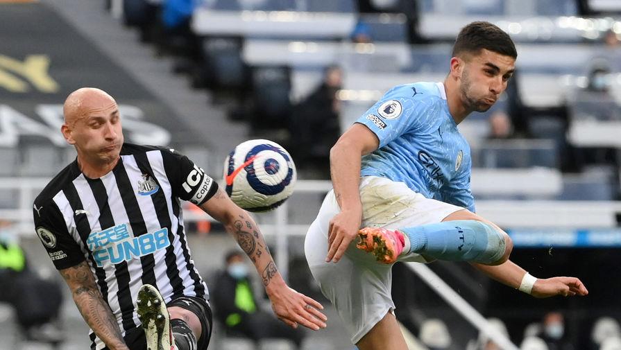 Эпизод матча «Ньюкасл» — «Манчестер Сити»