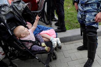 Несанкционированная антикоррупционная акция на Тверской улице в Москве, 12 июня 2017 года