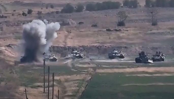 Боевые действия в Нагорном Карабахе, 27 сентября 2020 года