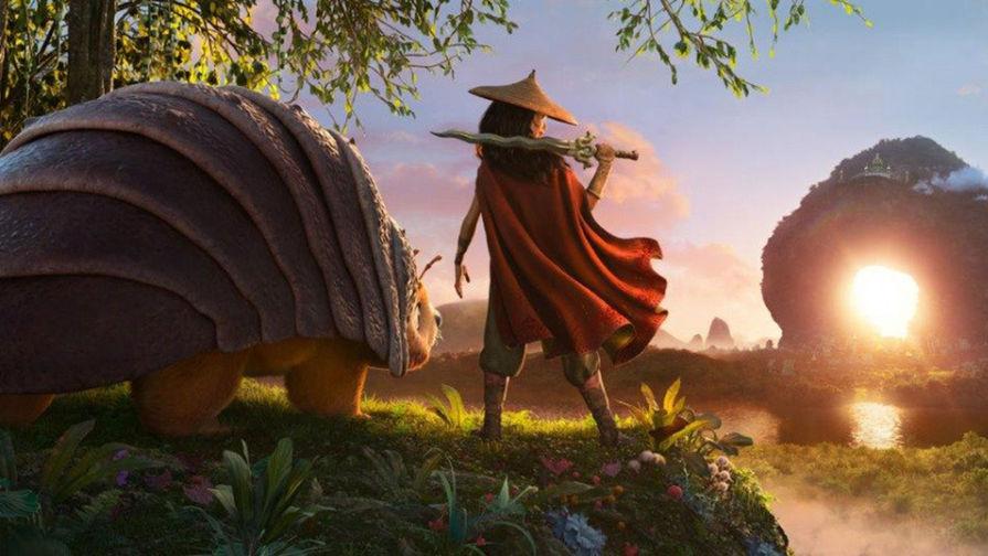Кадр из мультфильма «Райя и последний дракон» (2021)