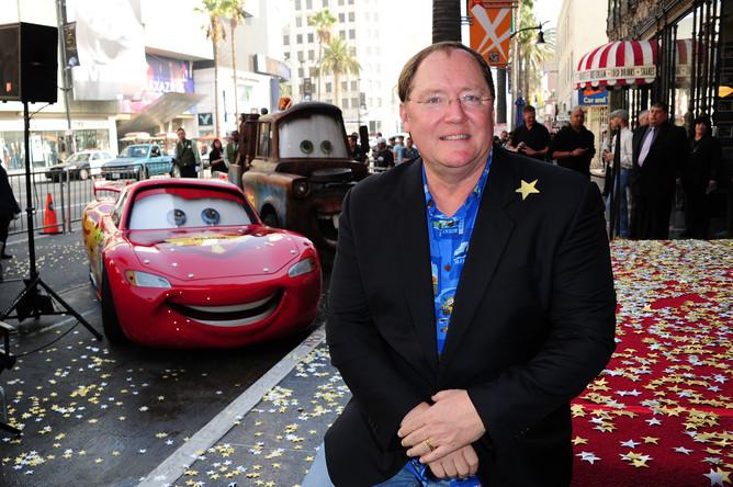Джон Лассетер, креативный директор Pixar и Disney