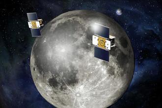 Зонды проекта GRAIL врезались в поверхность Луны