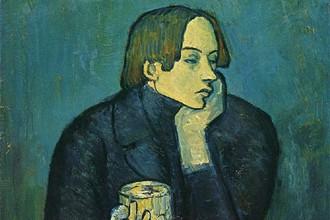 Пабло Пикассо, «Портрет поэта Сабартеса»