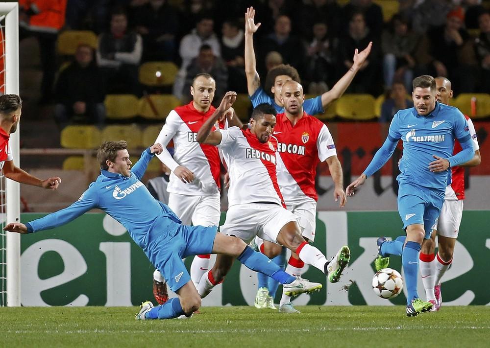 Футбол 9 декабрЯ зенит монако кто выиграл