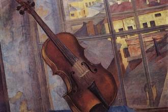 «Скрипка», К. Петров-Водкин