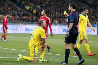 Сборная Украины сыграет в стыковых матчах к Евро-2016