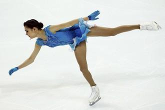 Евгения Медведева устанавливает мировой рекорд