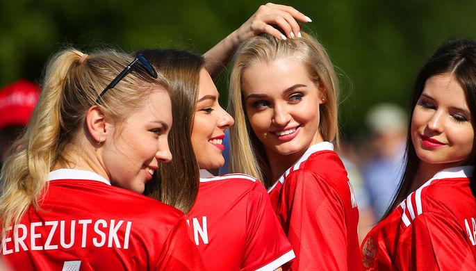 Российские болельщицы