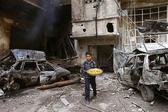 Восточная Гута, Дамаск, Сирия, 21 марта 2018 года