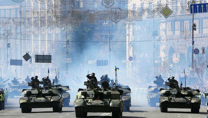 Парад по случаю Дня независимости Украины, 24 августа 2018 года