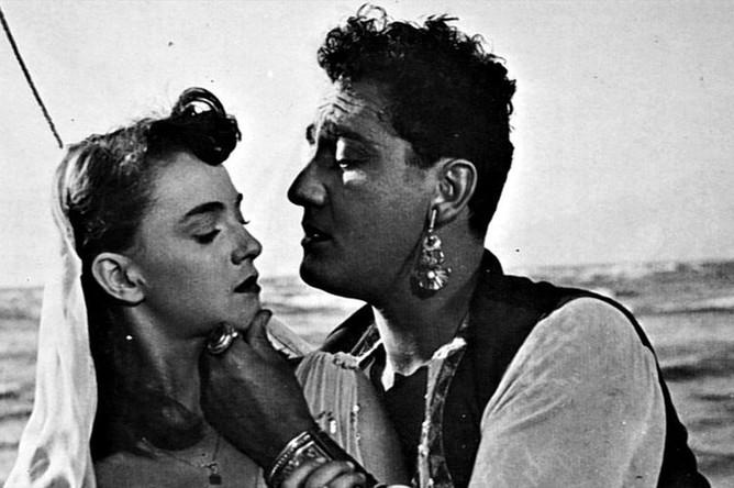 Кадр из фильма «Белый шейх» (1952)