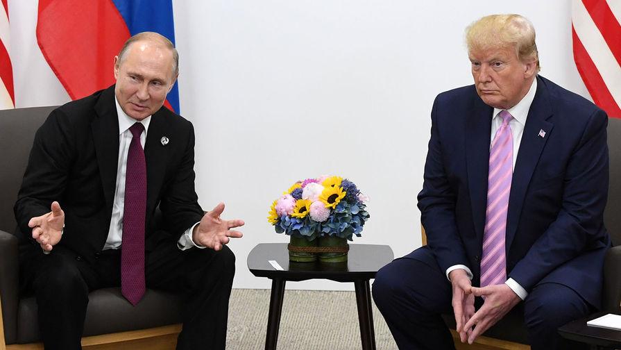 Путин высказался о встрече с Трампом