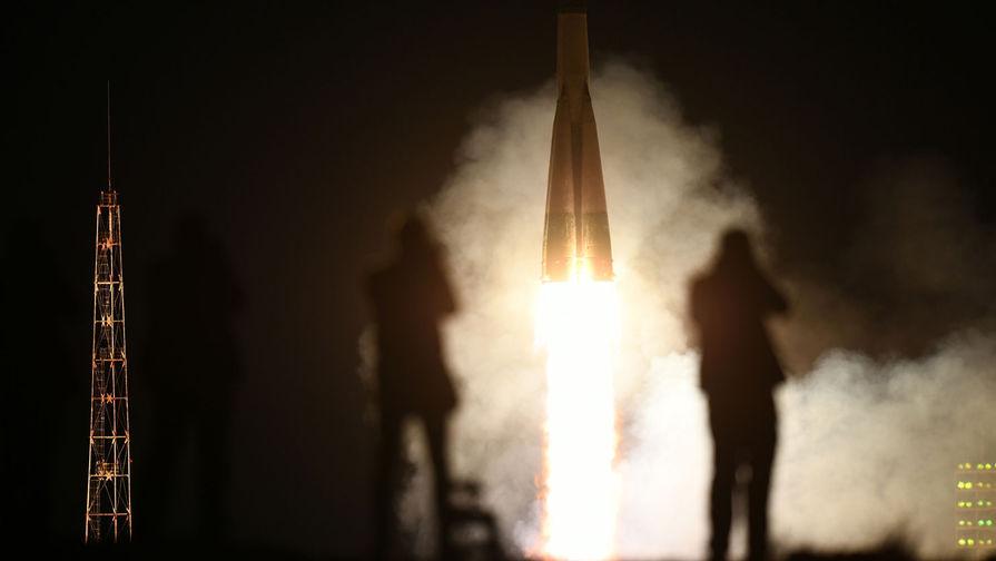 Пуск ракеты-носителя «Союз-ФГ» с пилотируемым кораблем «Союз МС-15» с космодрома Байконур, 25 сентября 2019 года