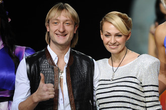 Евгений Плющенко и Яна Рудковская поженились в сентябре 2009 года