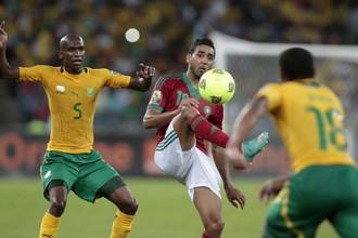 Сборные ЮАР и Марокко показали во втором тайме веселый футбол
