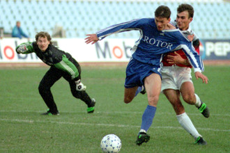 «Динамо» и «Ротор» в матче чемпионата России