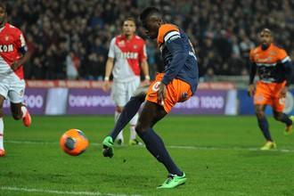 Гол М'Байе Ньянга спас «Монпелье» от поражения в матче с «Монако»