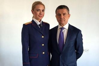 Анастасия Трегубова и Владимир Маркин