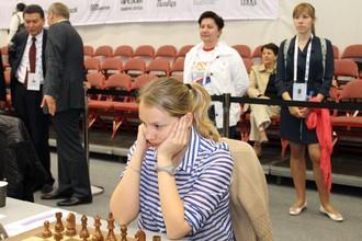 Валентина Гунина первой завершила свою партию победой