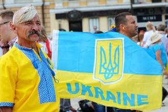 Парад вышиванок в Киеве