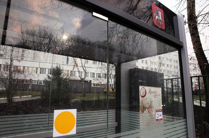 Первая теплая автобусная остановка в Москве
