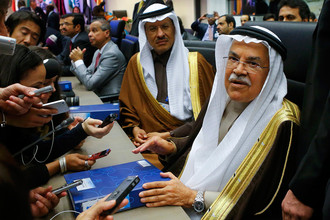 Министр нефти Саудовской Аравии Али аль-Наими во время министерской встречи ОПЕК в Вене
