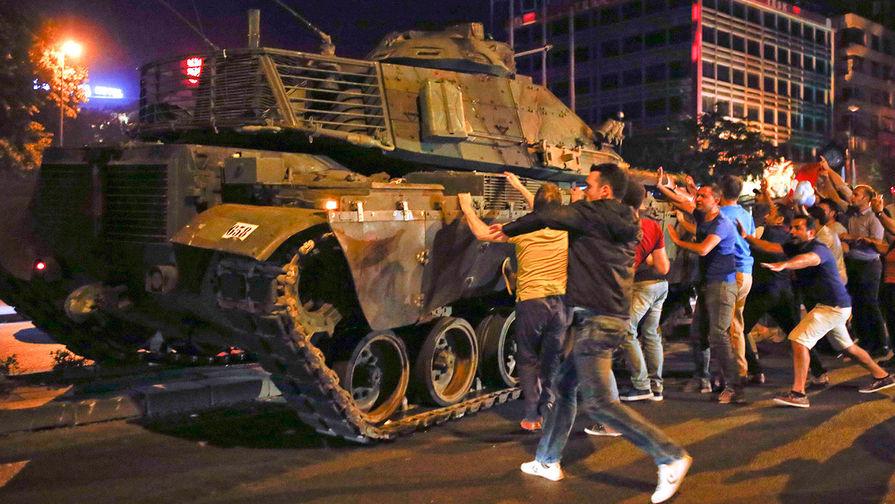 Положение дел в Турции на 15.00 17 июля 2016 г.