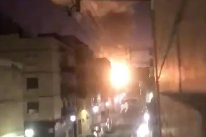 Последствия взрыва на нефтехимическом заводе в Испании, 14 января 2020 года
