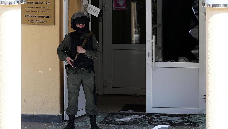 Ситуация на месте стрельбы в гимназии №175 в Казани, 11 мая 2021 года