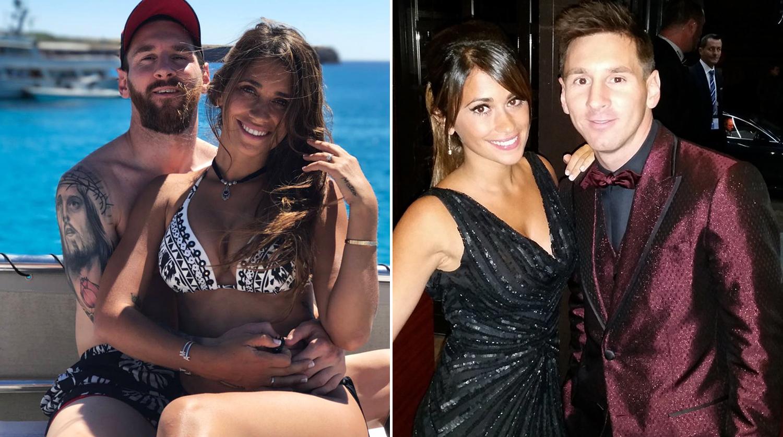 Месси футболист и его девушка