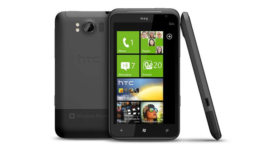 Смартфон HTC Titan на ОС Windows Phone 7