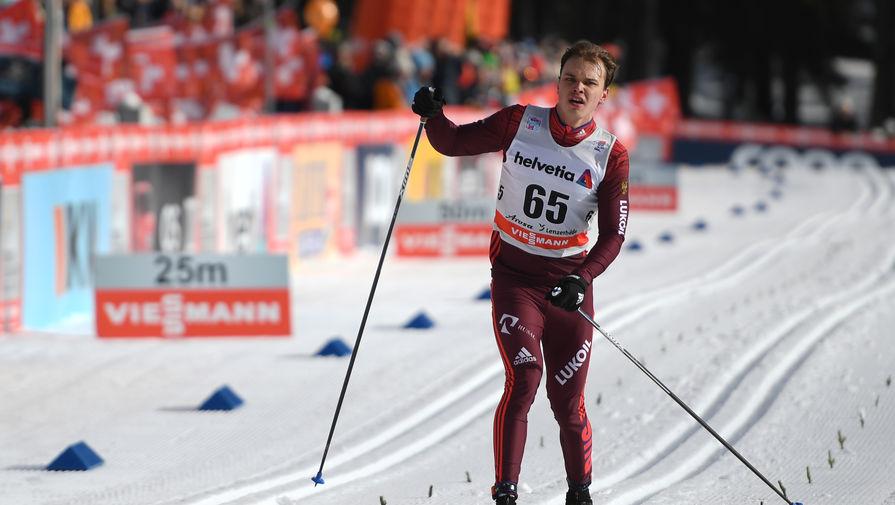 Российский лыжник Иван Якимушкин