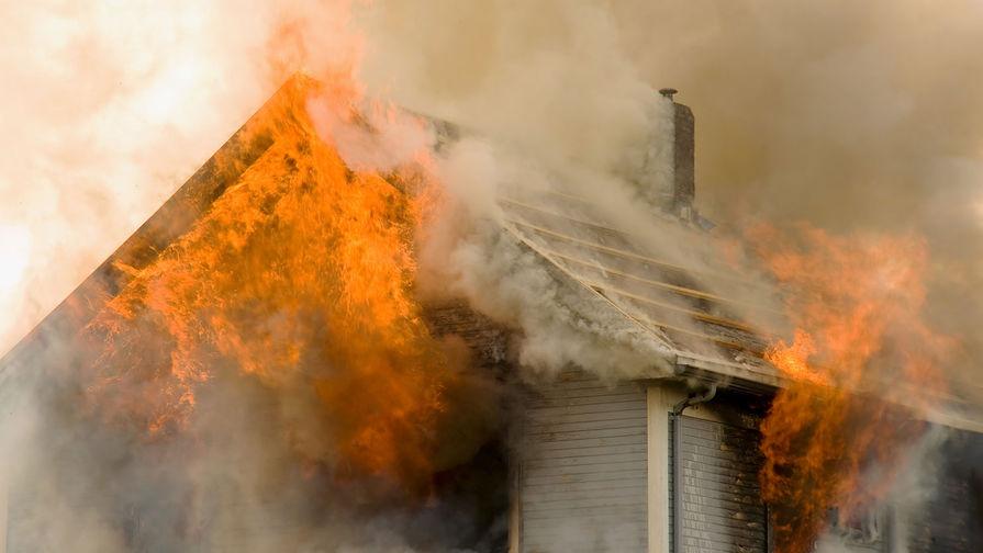 Четыре ребенка погибли при пожаре в частном доме на Урале