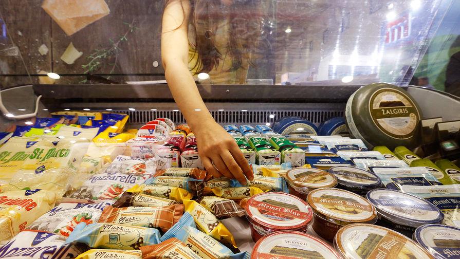 Литовский сыр и молочные продукты на выставке в Москве, 2014 год