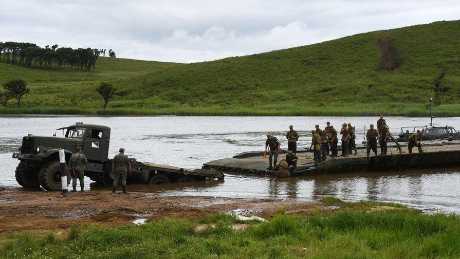 Железнодорожный мост рухнул во время военных учений в ЕАО
