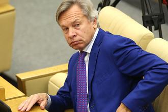 Член комитета Совета Федерации по обороне и безопасности Алексей Пушков