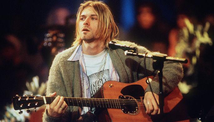 Лидер Группы Nirvana Курт Кобейн