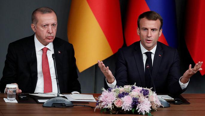 «Смерть мозга»: Эрдоган направил Макрона к врачу