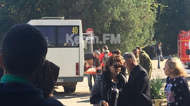Увеличилось число жертв нападения на колледж в Крыму 18.10.2018 новые фото