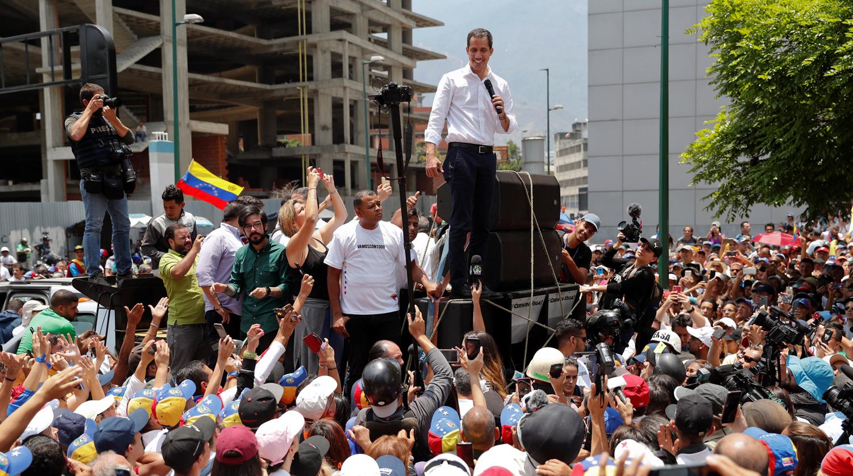 Мадуро контратакует: полиция приступила к разгону демонстрантов. LIVE