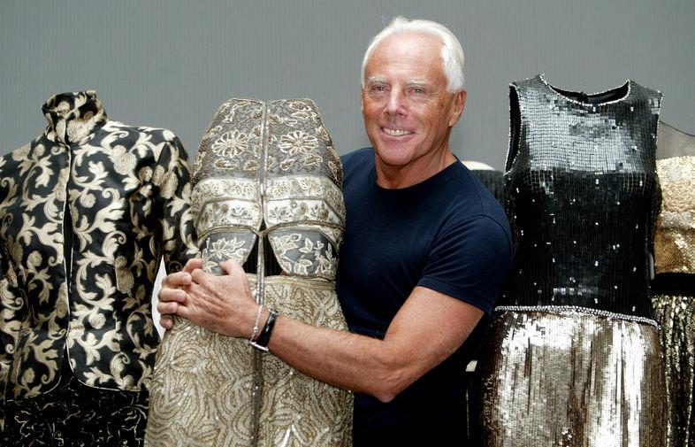 Джорджио армани одежда работа моделью в вязники