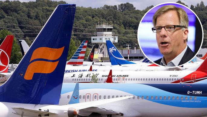 Глава программы самолетов Boeing 737 и вице-президент корпорации Boeing Эрик Линдблад