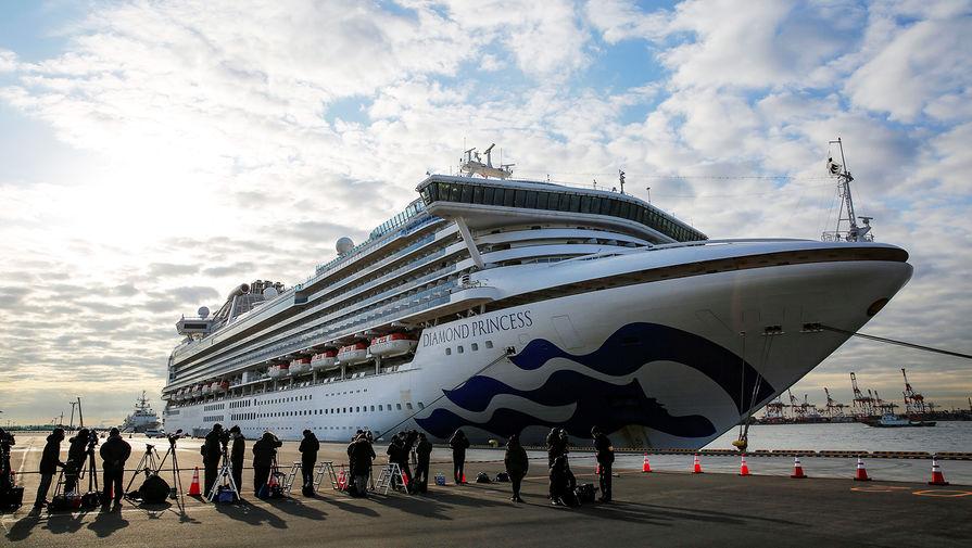 Ситуация у круизного лайнера Diamond Princess, находящегося на карантине около японского города Иокогама, 7 февраля 2020 года