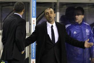 Роберто ди Маттео дебютировал в качестве и.о. главного тренера «Челси»