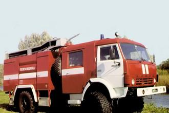 Пожарный автомобиль на базе «КАМАЗ»